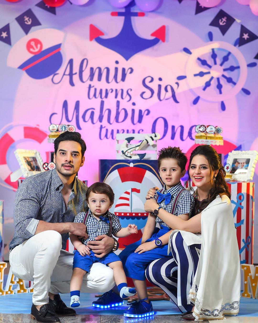 Arsalan Fatima Effandi Son Mahbir First Birthday Celebrations 10