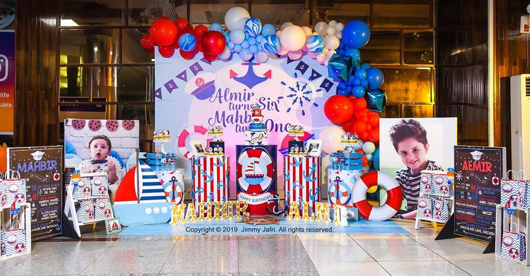 Arsalan Fatima Effandi Son Mahbir First Birthday Celebrations 14
