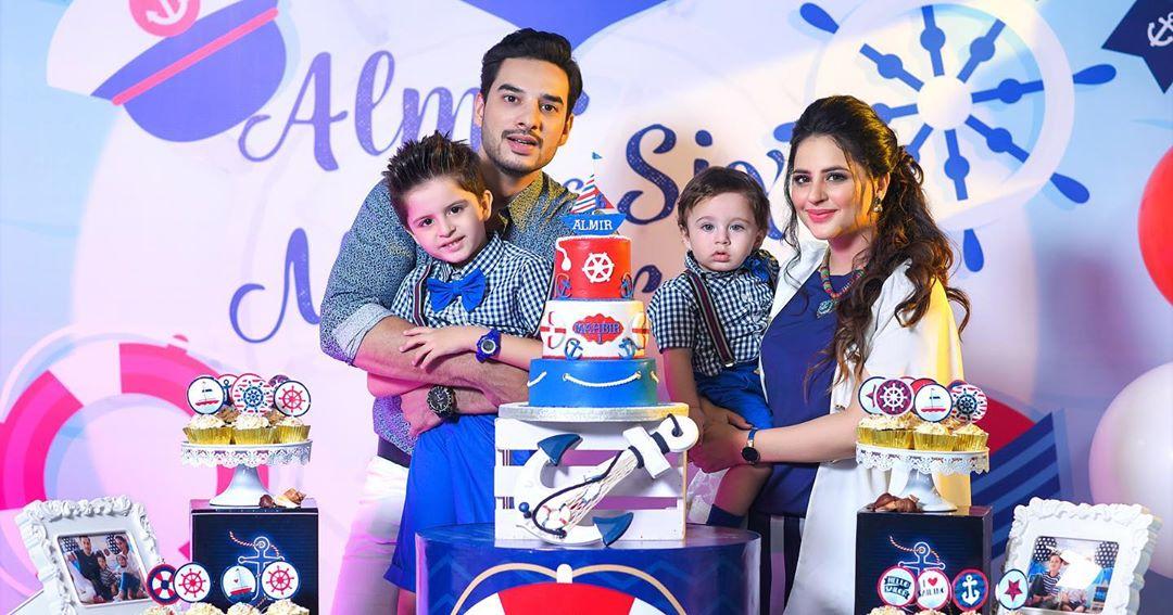 Arsalan Fatima Effandi Son Mahbir First Birthday Celebrations 15