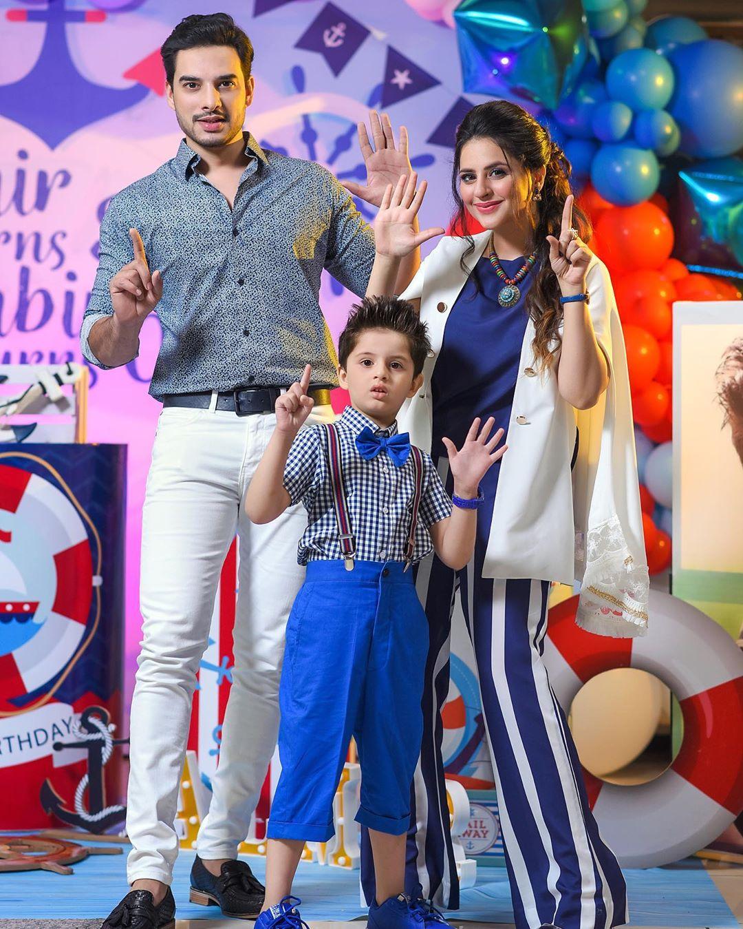 Arsalan Fatima Effandi Son Mahbir First Birthday Celebrations 2