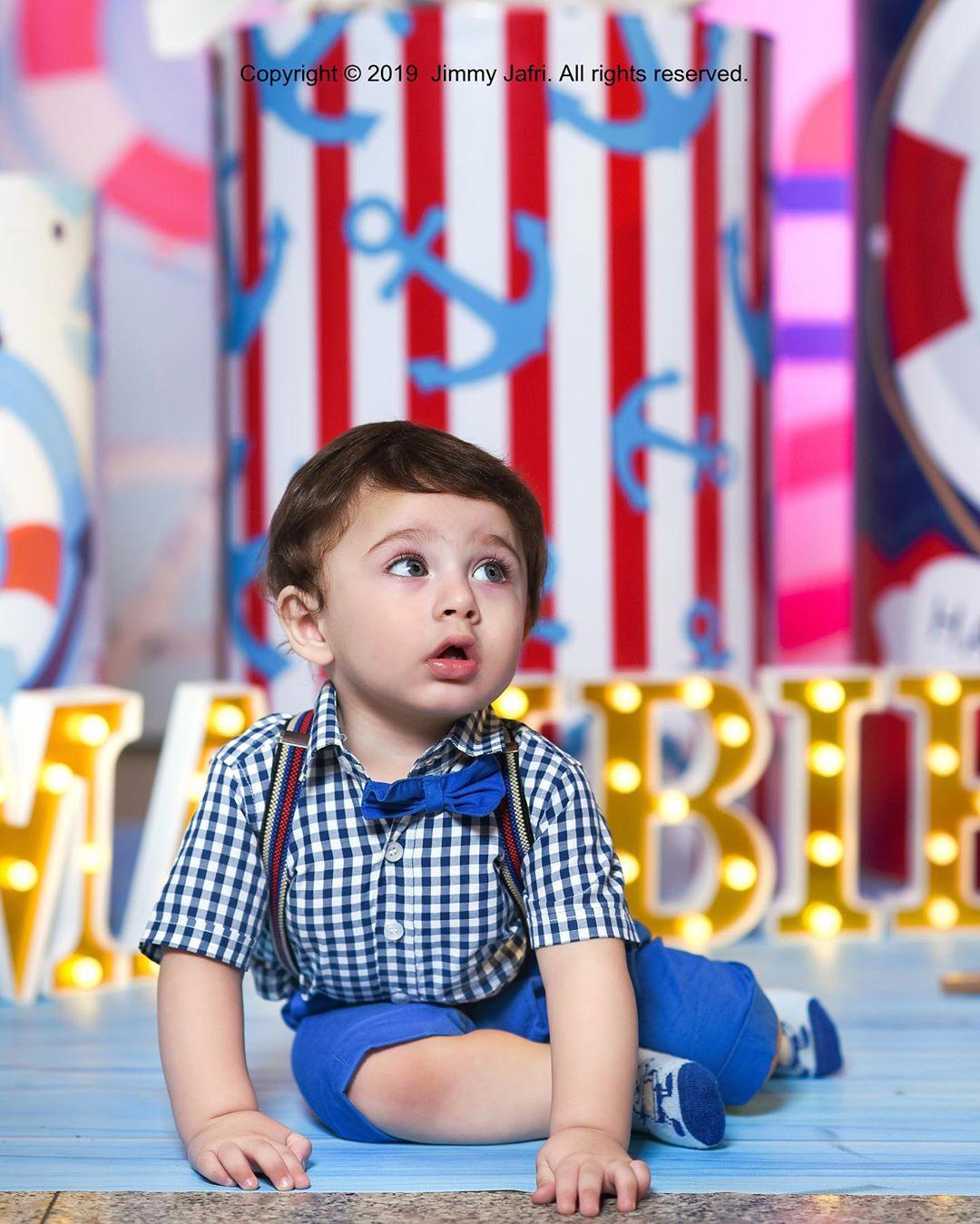 Arsalan Fatima Effandi Son Mahbir First Birthday Celebrations 3