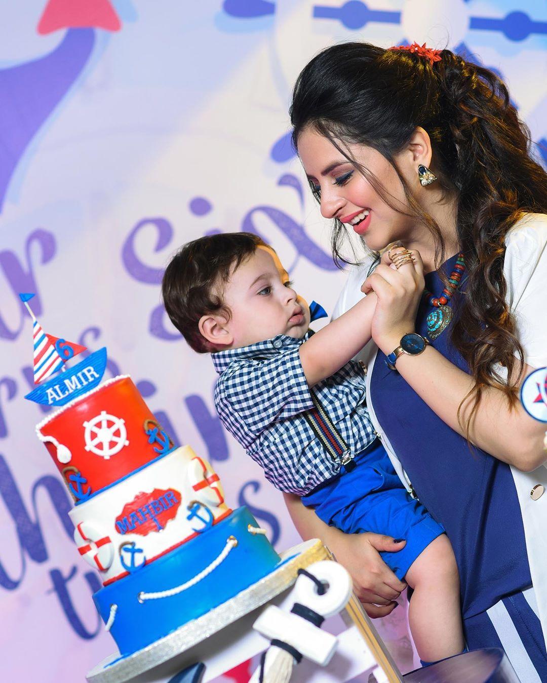Arsalan Fatima Effandi Son Mahbir First Birthday Celebrations 4