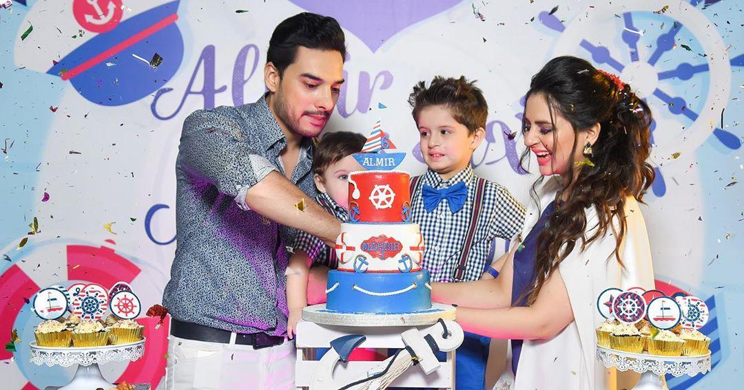 Arsalan Fatima Effandi Son Mahbir First Birthday Celebrations 5