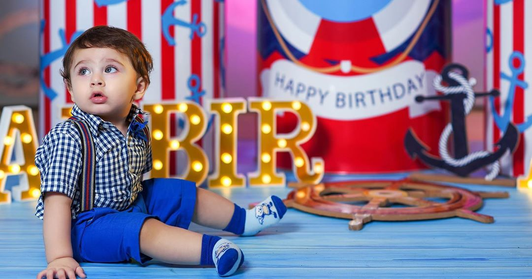 Arsalan Fatima Effandi Son Mahbir First Birthday Celebrations 6