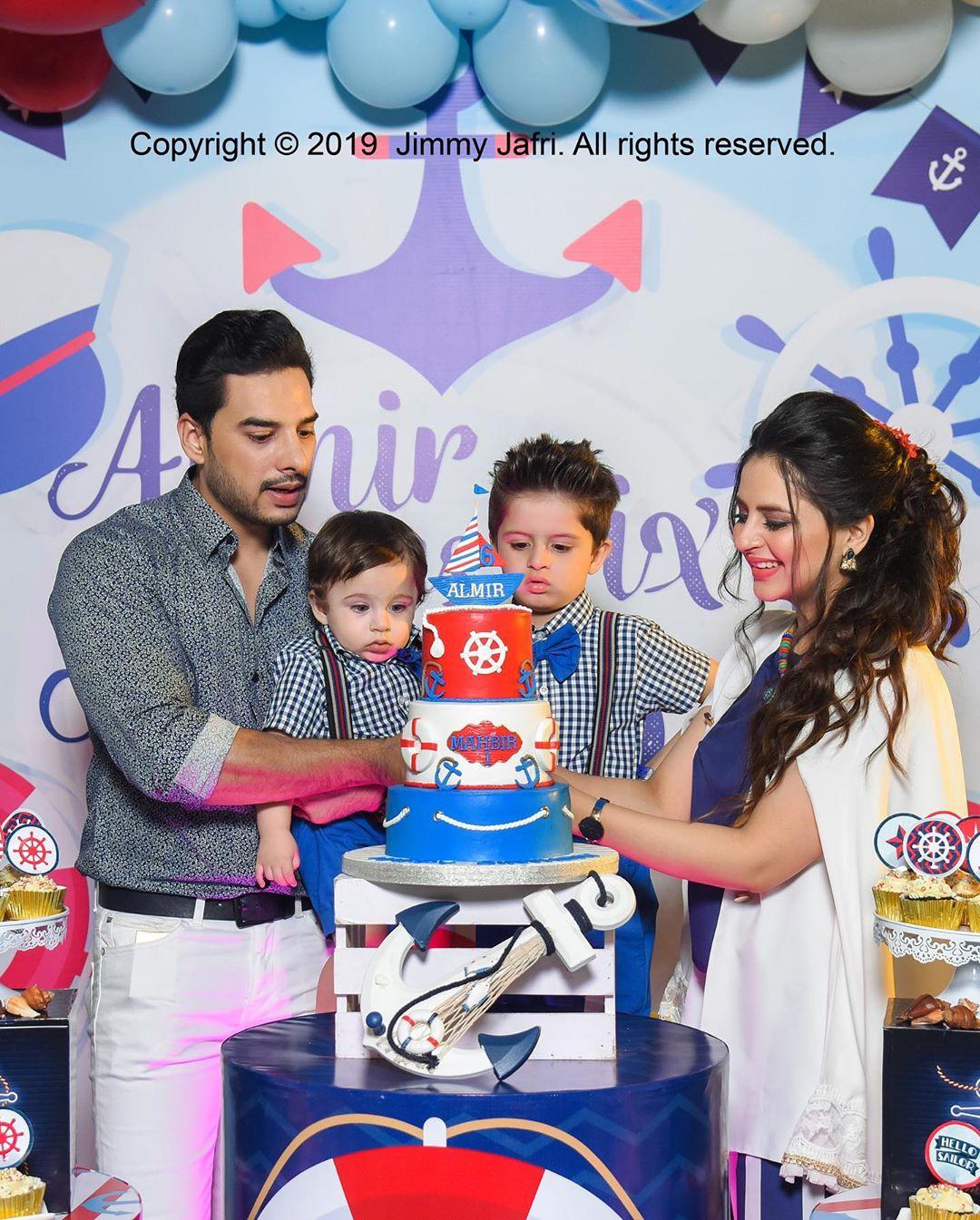 Arsalan Fatima Effandi Son Mahbir First Birthday Celebrations 7