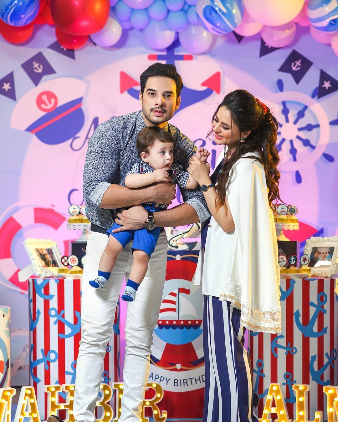 Arsalan Fatima Effandi Son Mahbir First Birthday Celebrations 8