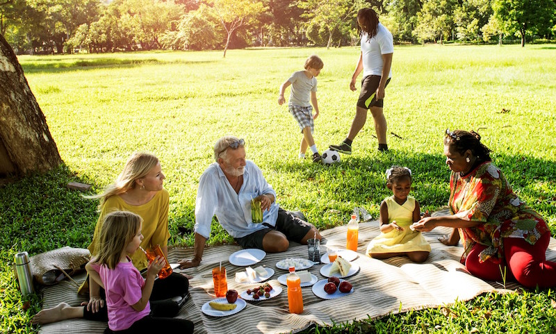 Family Monsters Picnic fun at Queen Elizabeth Olympic Park istock