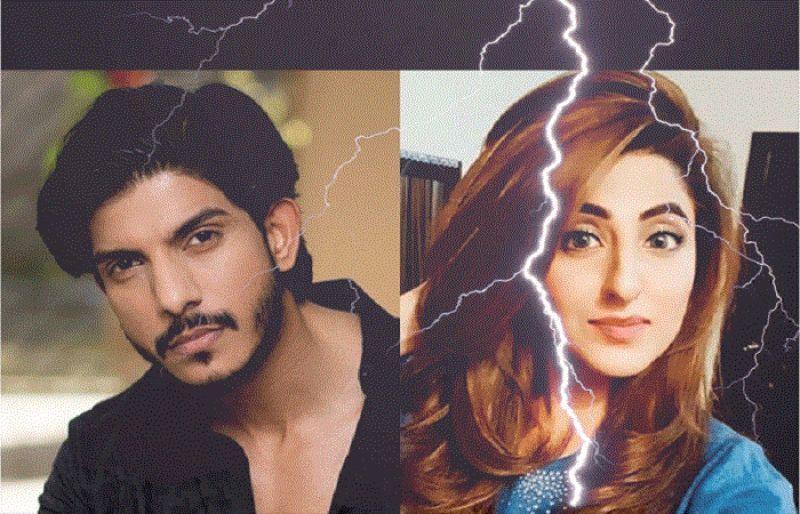 Fatima Sohail and actor Mohsin Abbas Haider parted ways today