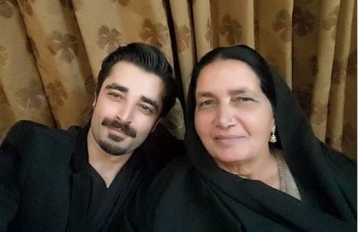 Hamza Ali Abbasi mother