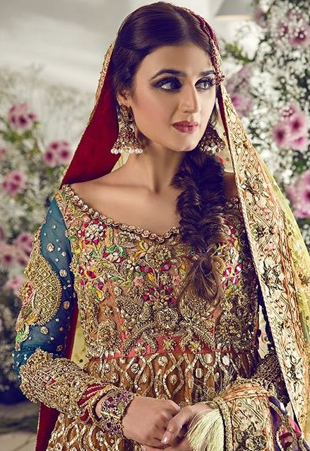 Hira Mani Bridal Shoot 1