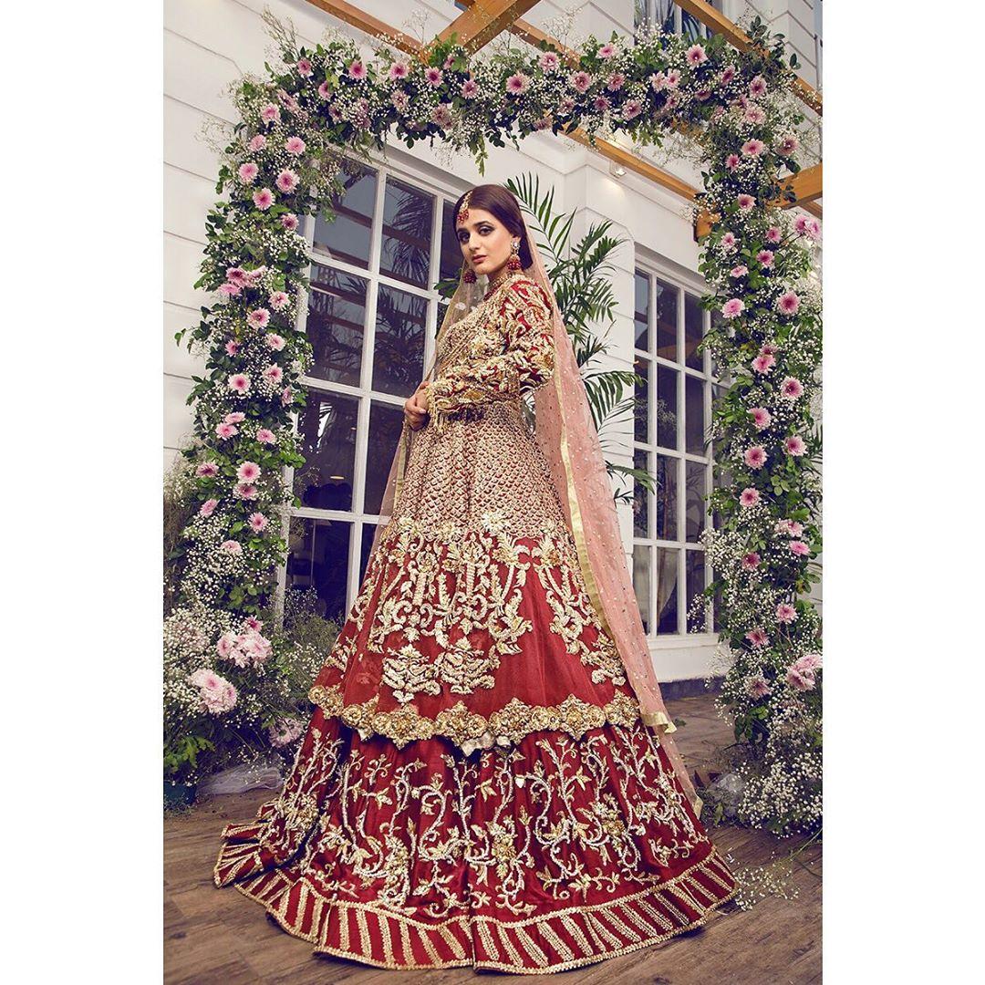 Bridal Photo Shoot of Beautiful Actress Hira Mani