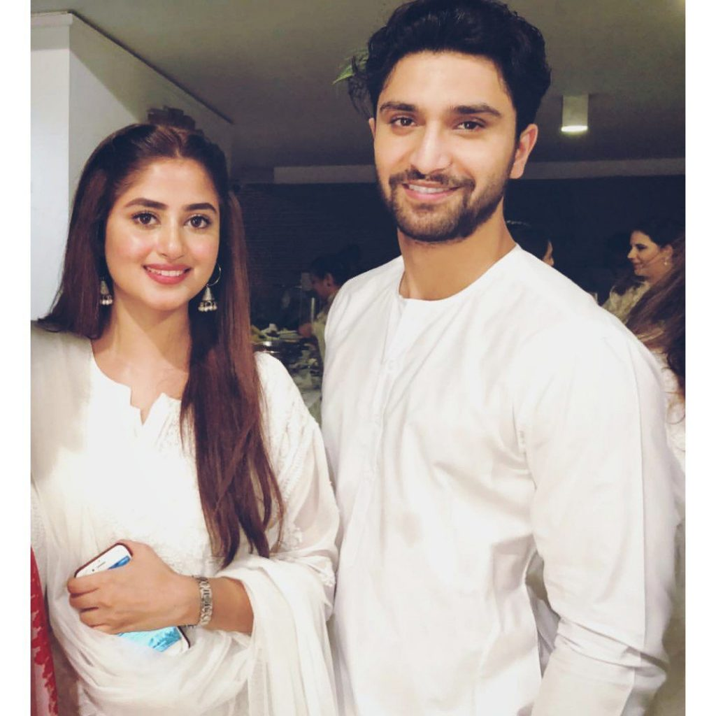 A Group of Artists Urged to Ban Ahad Raza Mir and Sajal Aly