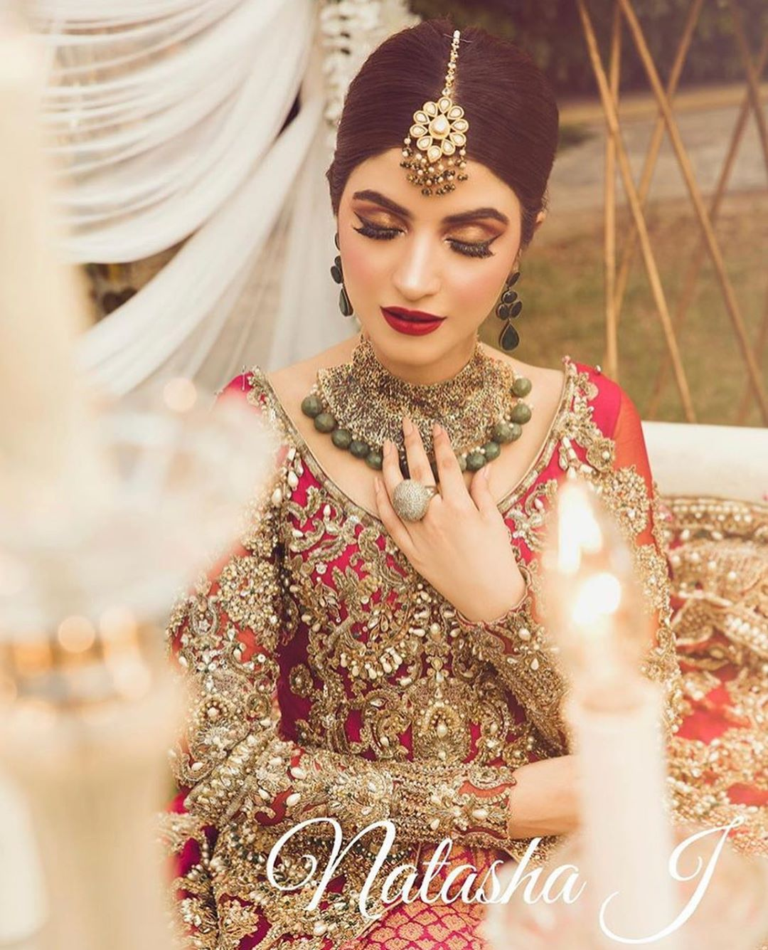 New Beautiful Bridal Photo Shoot of Actress Kinza Hashmi
