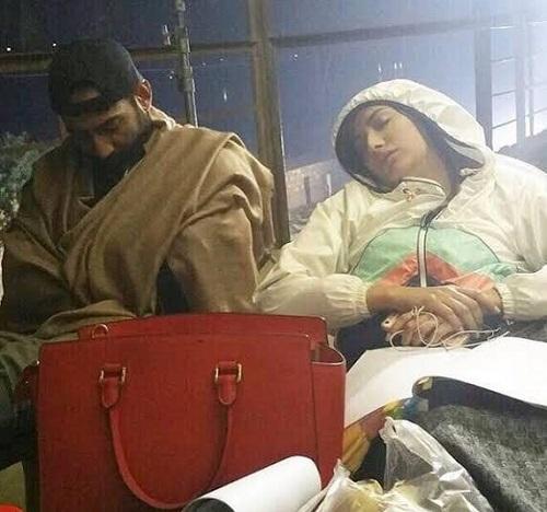 Pakistani Celebrities Who Slept on The Sets