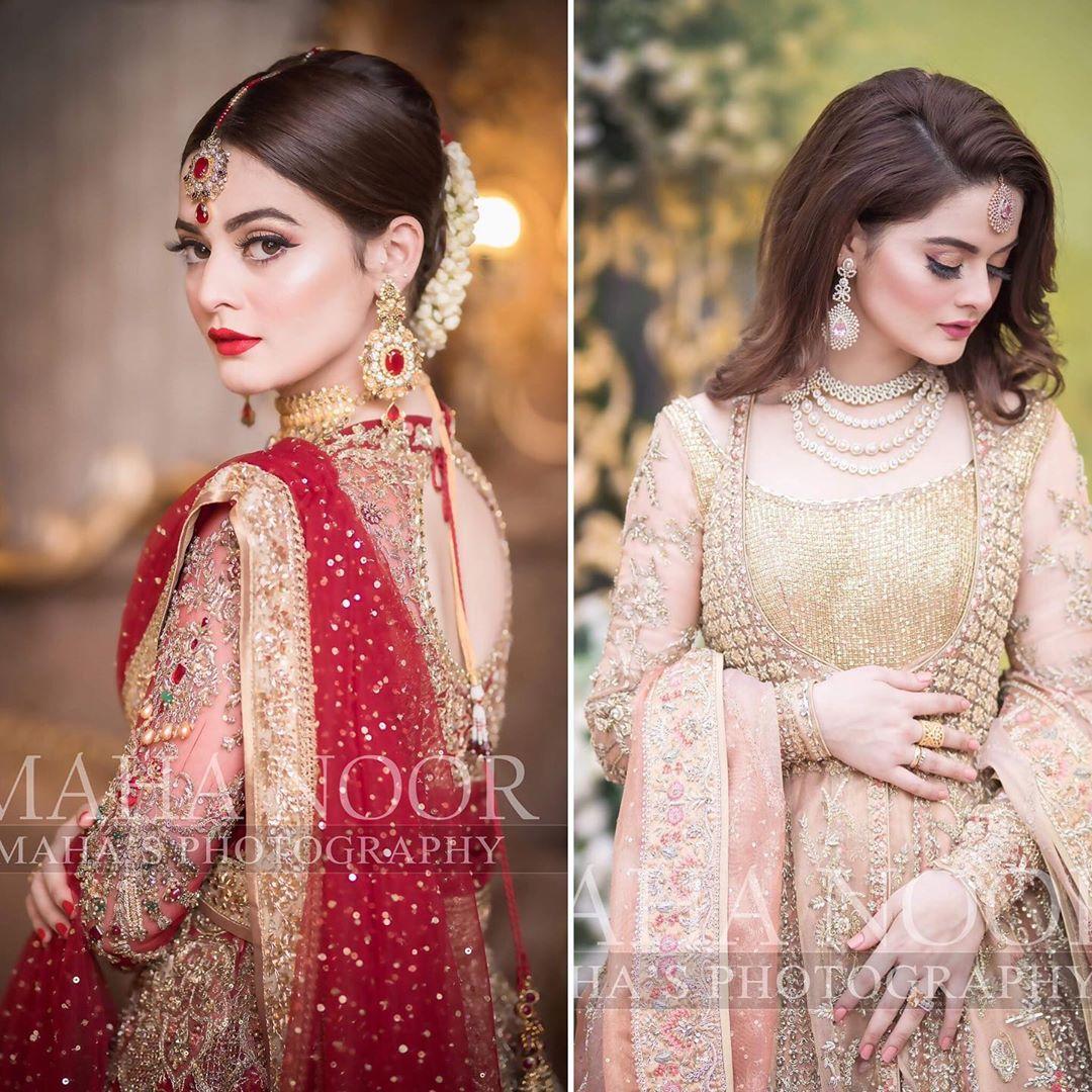Minal Khan Bridal Photo Shoot 1