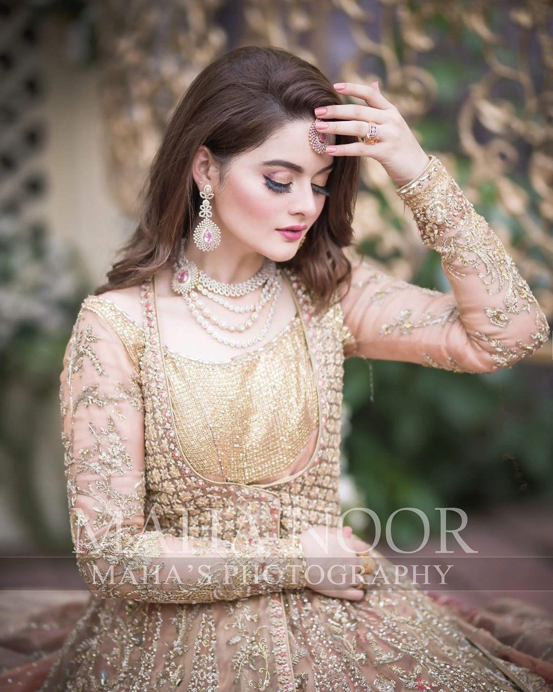 Minal Khan Bridal Photo Shoot 4