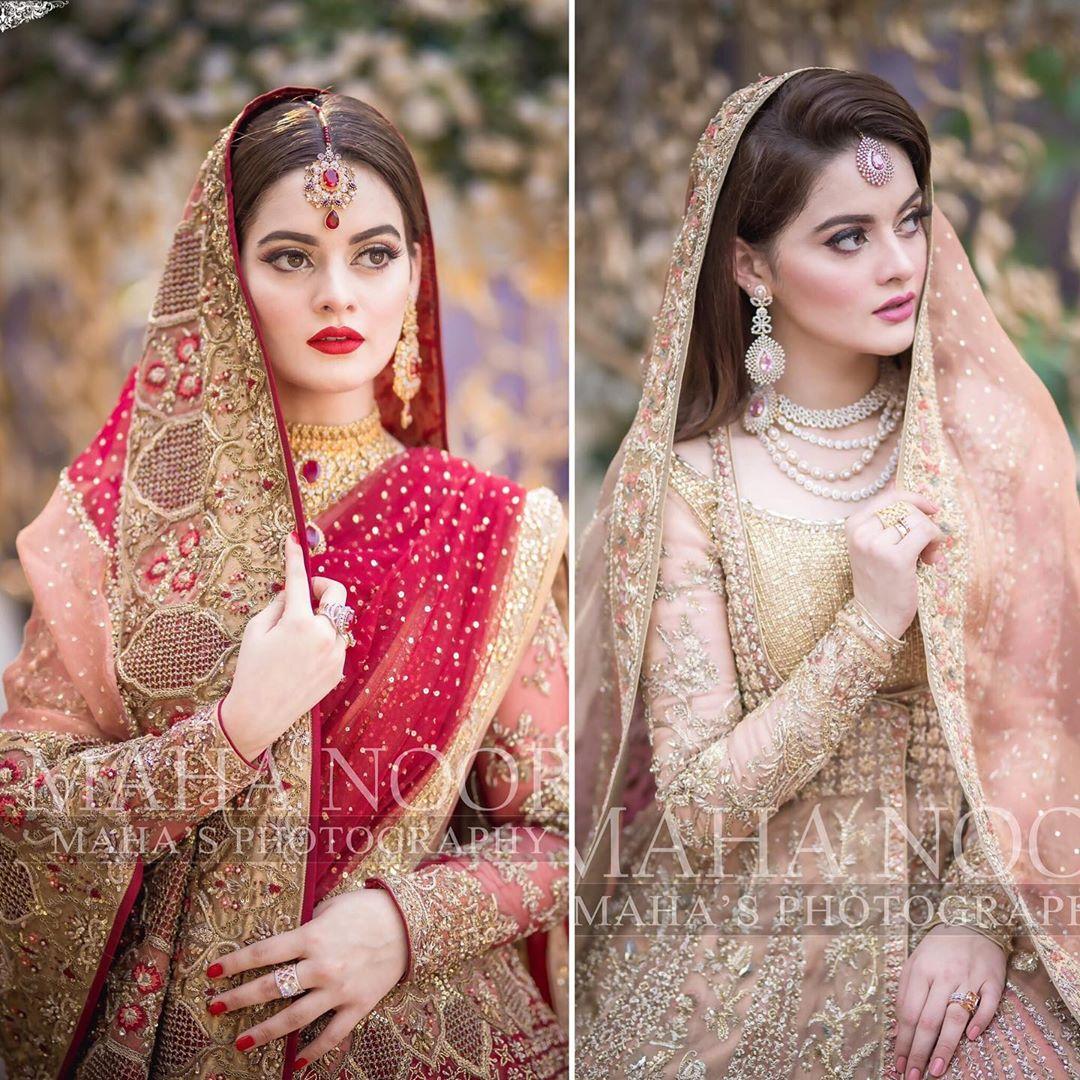 Minal Khan Bridal Photo Shoot 9