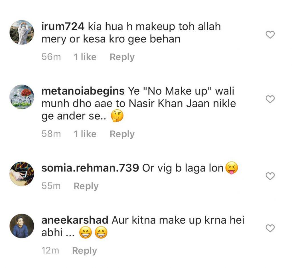 People Criticized Nida Yasir For No-Makeup Look