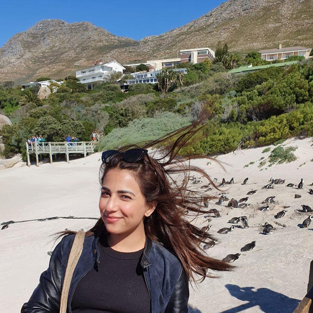 Ushna Shah South Africa 3