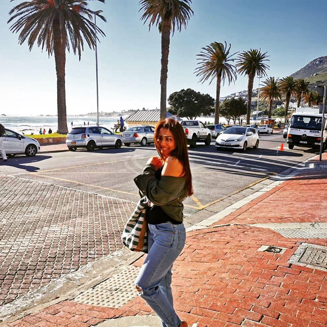 Ushna Shah South Africa 7