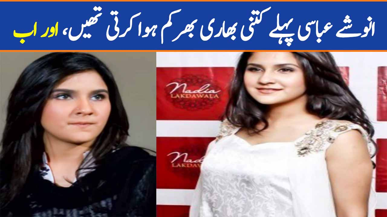 Anoushay Abbasi's Old & New Pictures Comparison