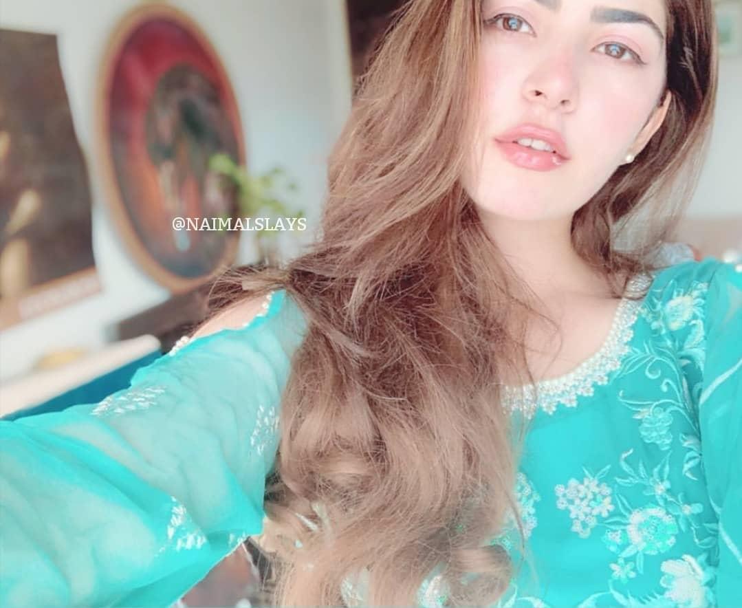 Latest Clicks of Hamza Ali Abbasi & Naimal Khawar