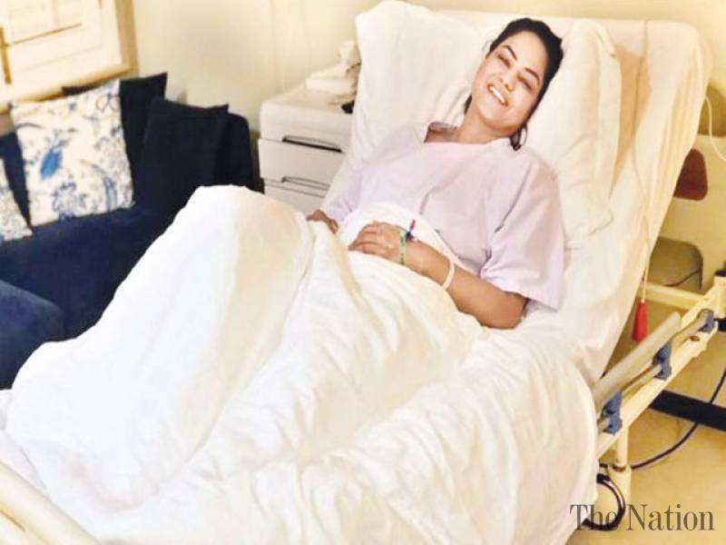 I Am Recovering After My Breast Surgery, Says Veena Malik