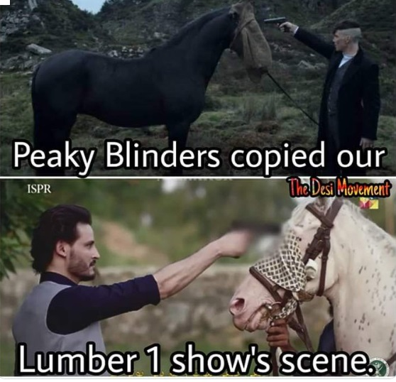 Twitter is having a field day trolling Ehd E Wafa for blatantly copying scene from Peaky Blinders