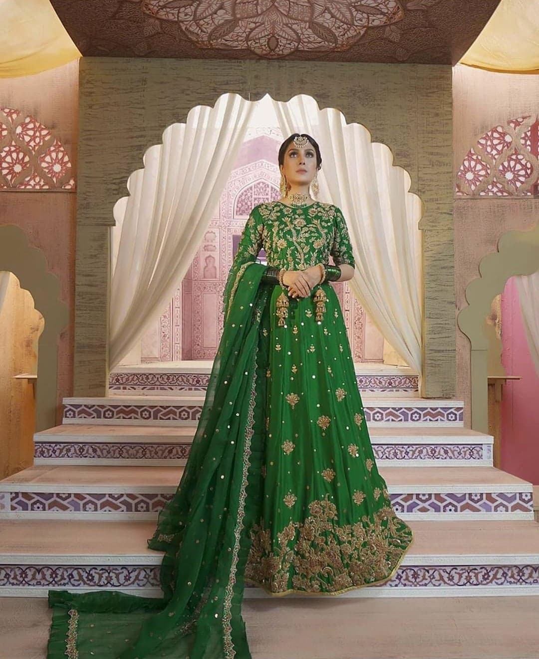 Top 10 Bridal Looks of Ayeza Khan