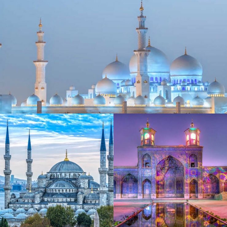 6 breathtaking mosques around the world