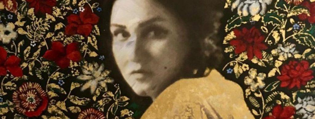 Madam Noor Jehan's Daughter Nazia Ejaz Pays Tribute To Her Mother In Her Art Exhibition