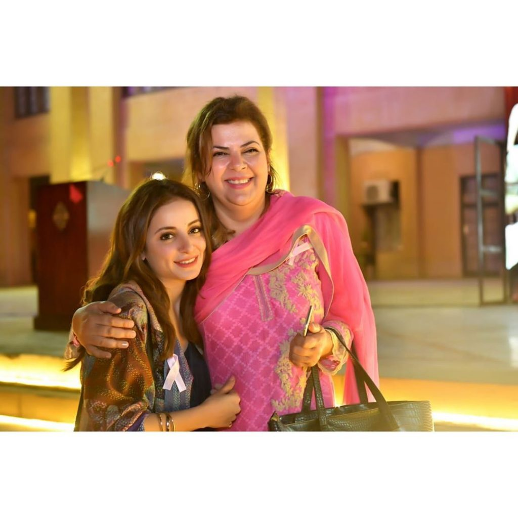 Sarwat Gillani Spotted At An Event On Spreading Breast Cancer Awareness