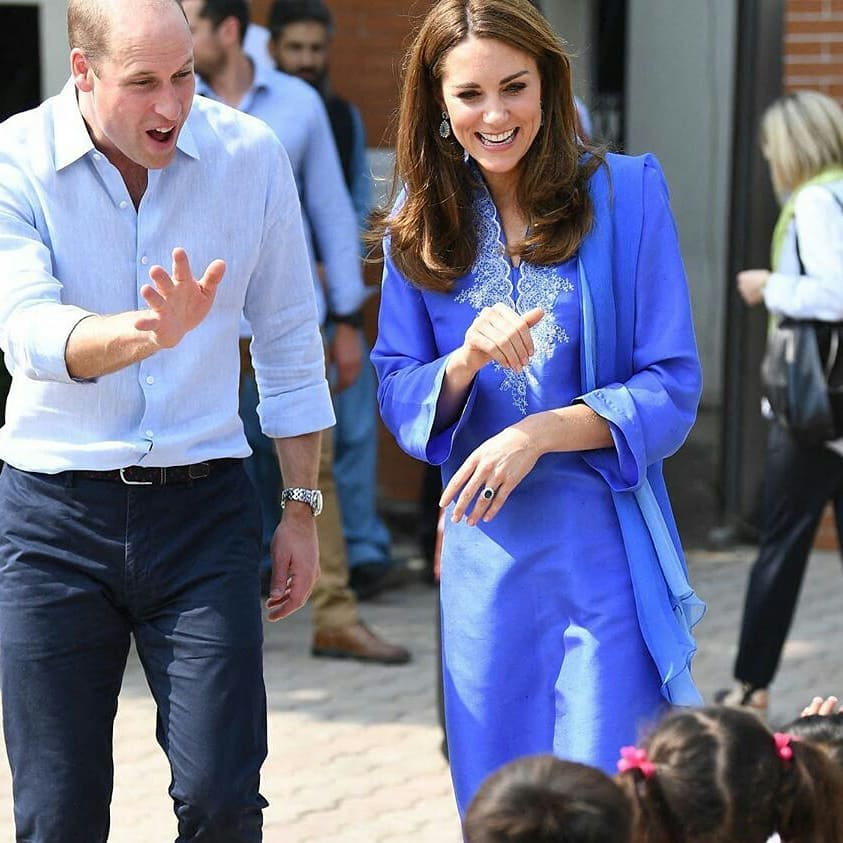 Prince William and Kate Middleton begin Pakistan tour with winning hearts