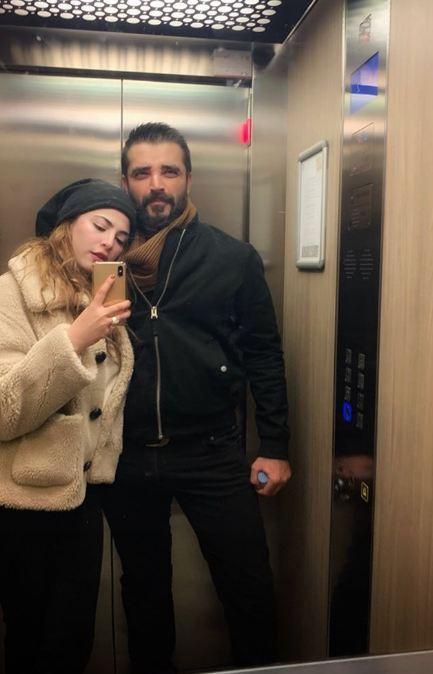 Hamza Ali Abbasi and Naimal Khawar Enjoying Their Honeymoon in Spain