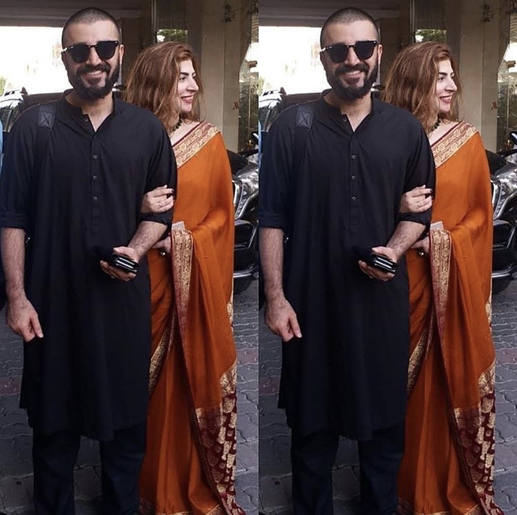 Hamza Ali Abbasi And Naimal Khawar Are Off To Barcelona For Their Honeymoon