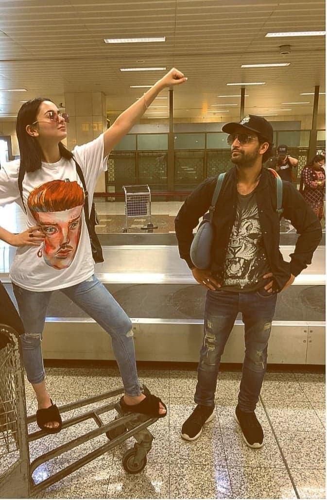 Airport Fashion of Pakistani Celebrities