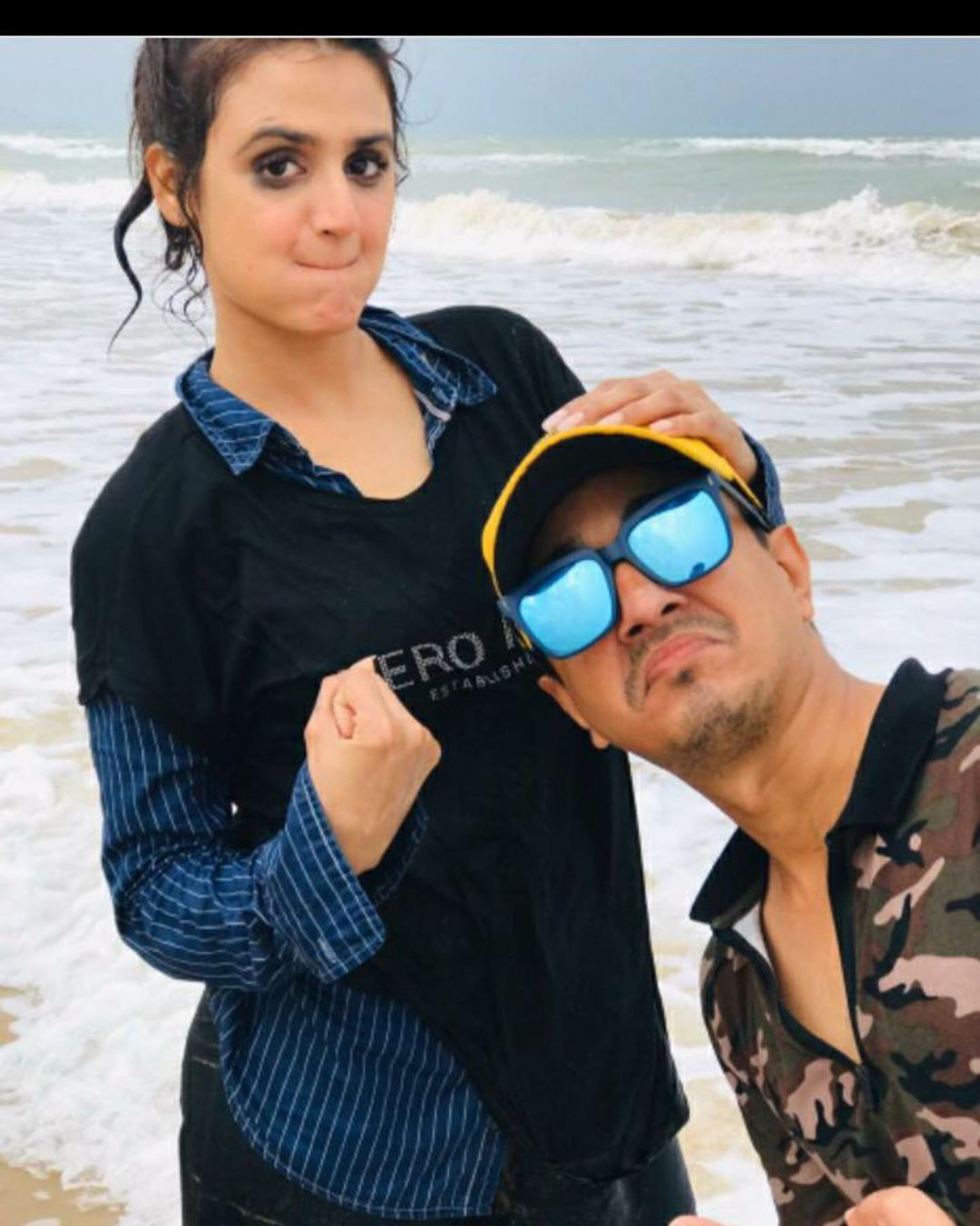 Hira Mani Shared Pictures with Her Brother in Law from a Family Picnic