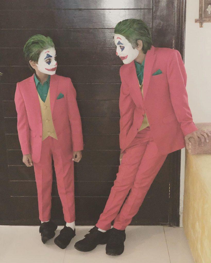 Hira Mani's Sons In Joker's Avatar