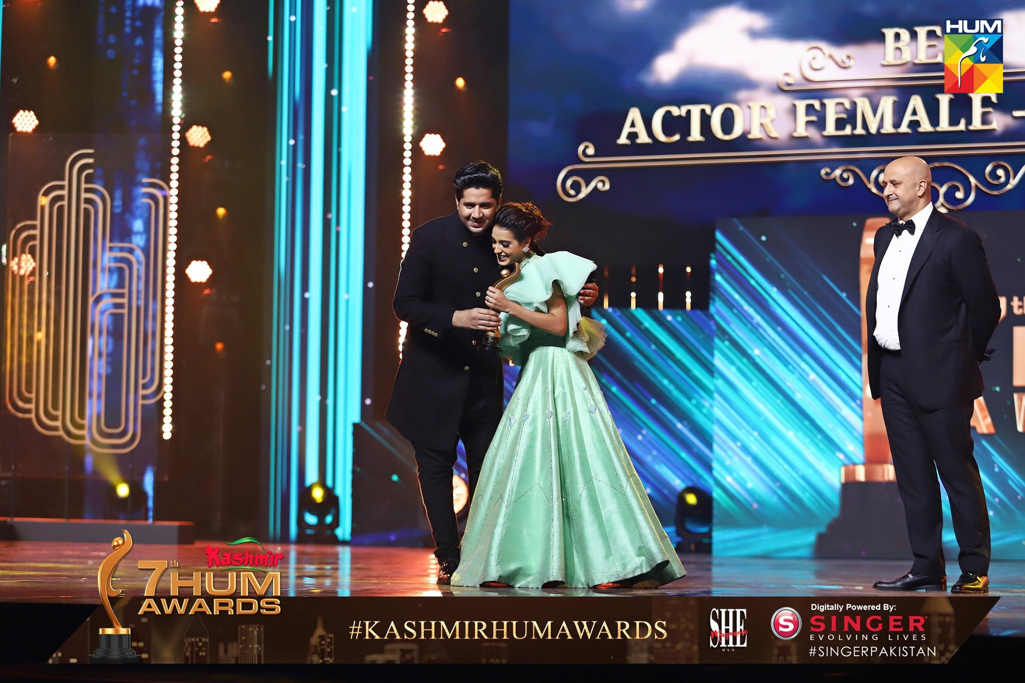 Beautiful Pictures from Hum Awards 2019