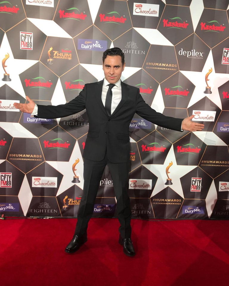 Celebrities at the Red Carpet of Hum Awards 2019 in Houston