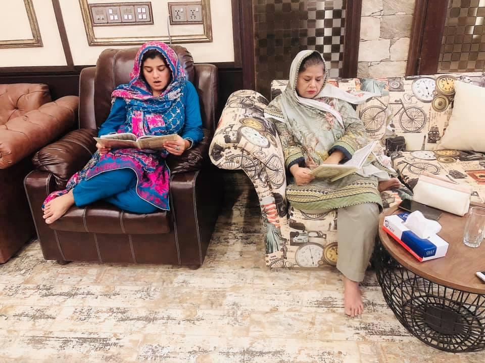 Quran Khuani Held At Javeria and Saud House in Karachi