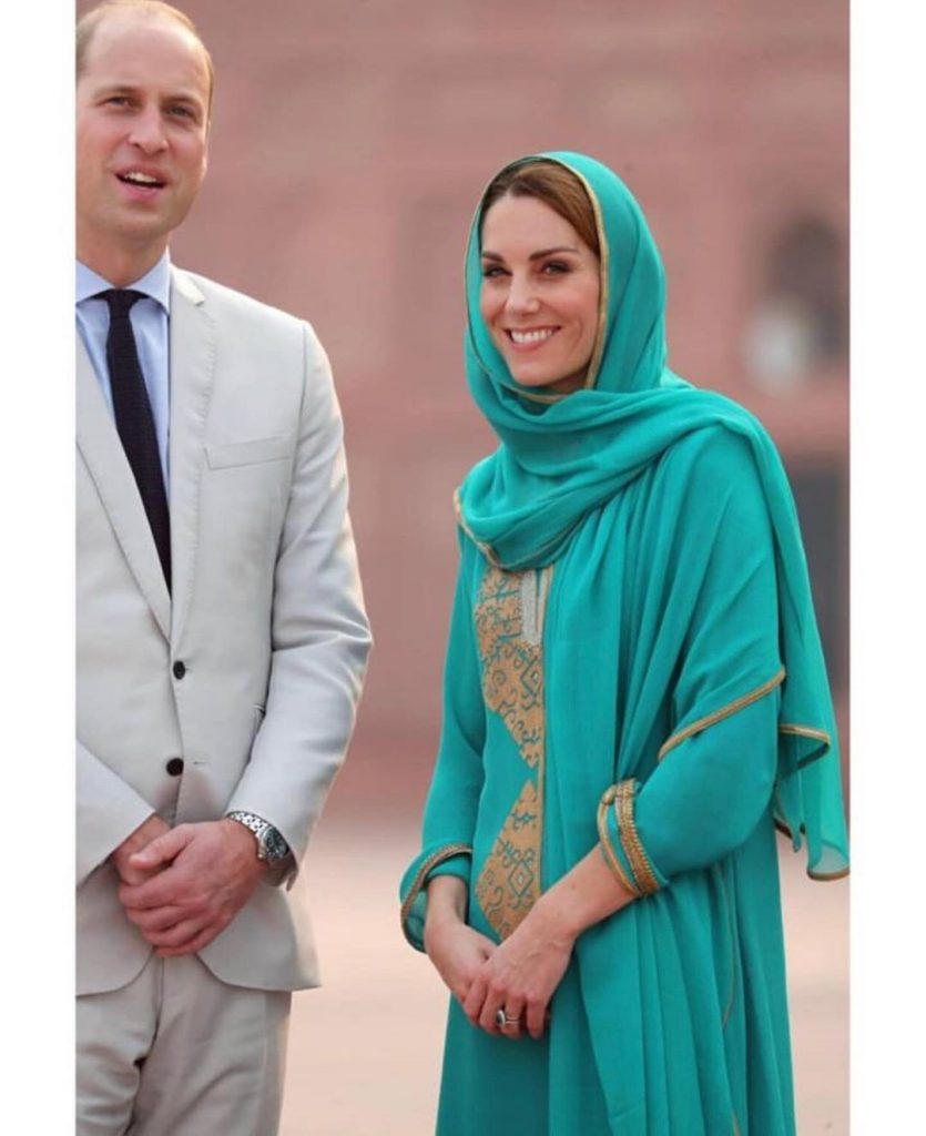 Prince William, Kate Middleton visit Lahore on a one-day tour of the city