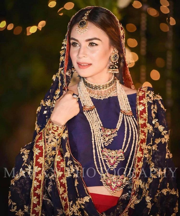 Most Beautiful Bridal Dresses Of Pakistani Celebrities Top 10 Reviewit Pk