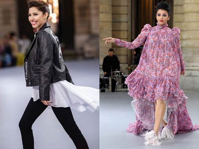 Mahira Khan vs Aishwarya Rai Bachan - Paris Fashion Week 2019