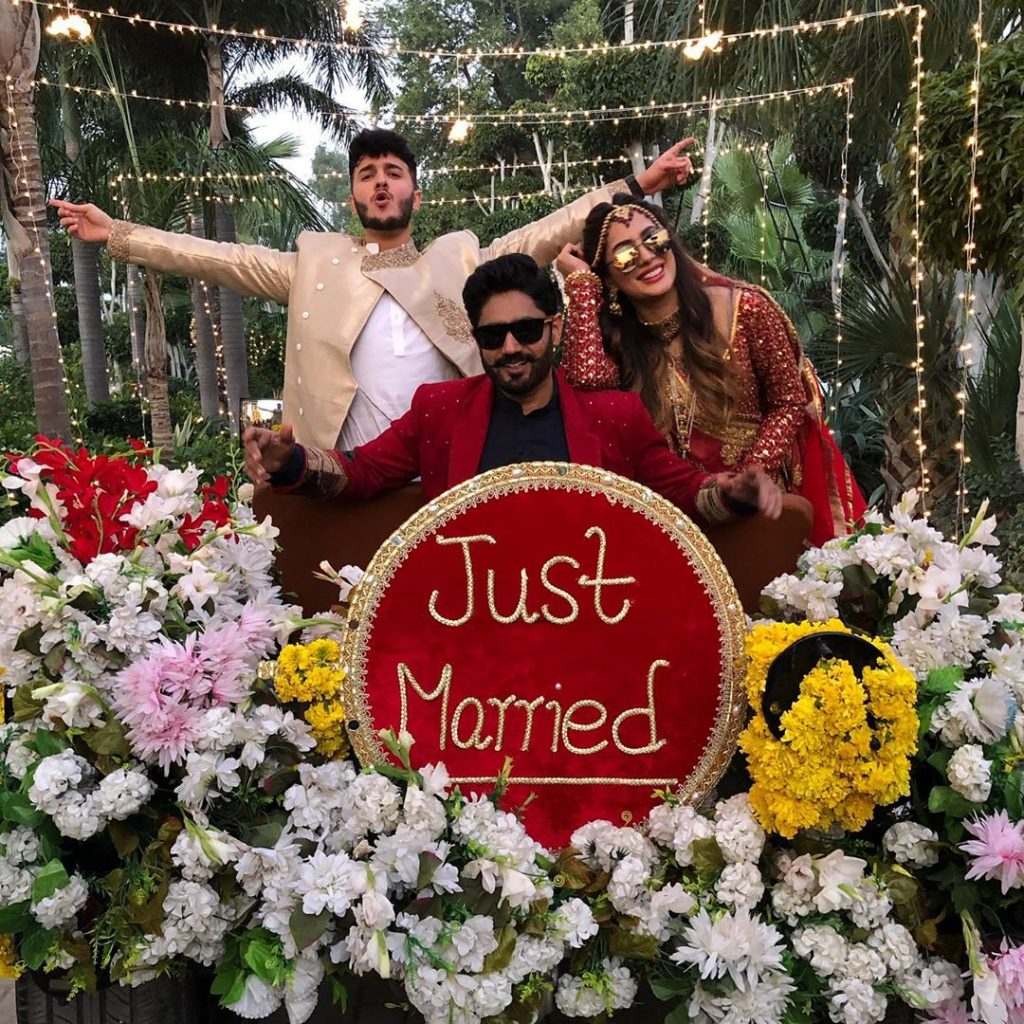 Mehwish Hayat Got Married To Shahveer Jafry In Abrar-ul-Haq's Upcoming Video