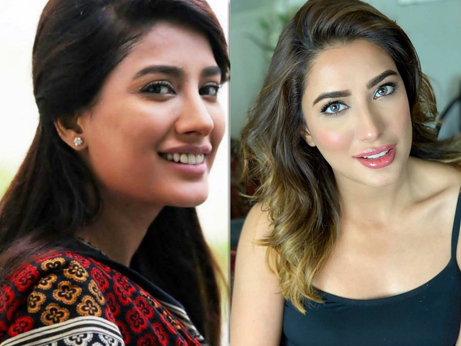 Mehwish Hayat's Transformation Pictures and Huda Kattan