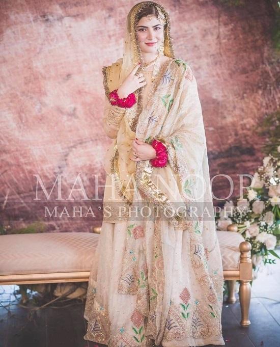 Beautiful Pakistani Bridal Dresses: Most Beautiful Bridal Dresses Of Pakistani Celebrities