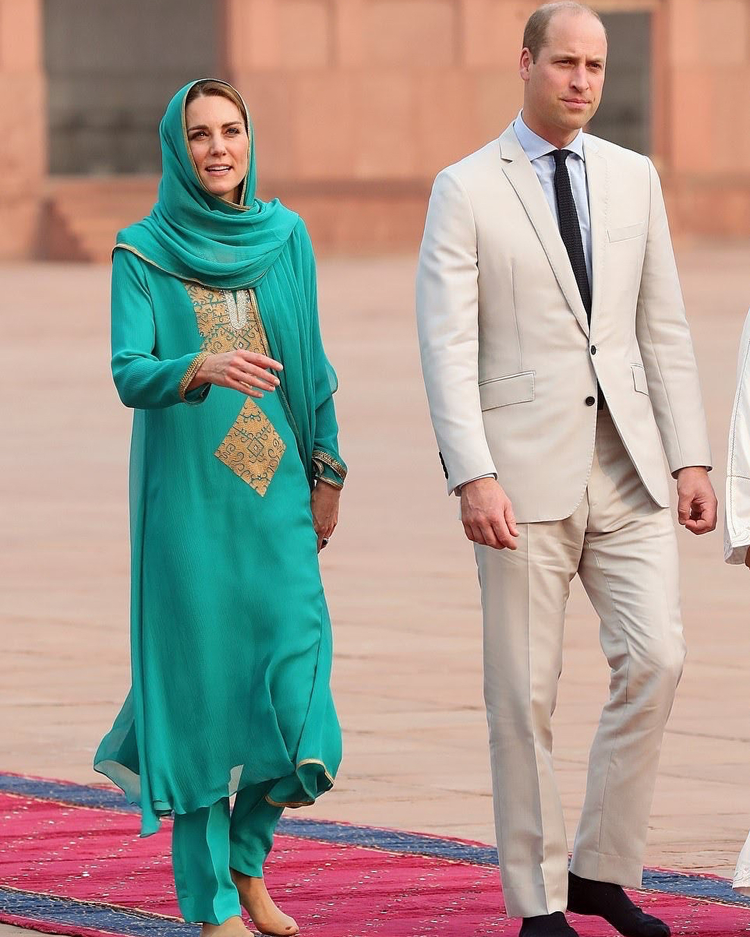 Royal Couple In Lahore 1