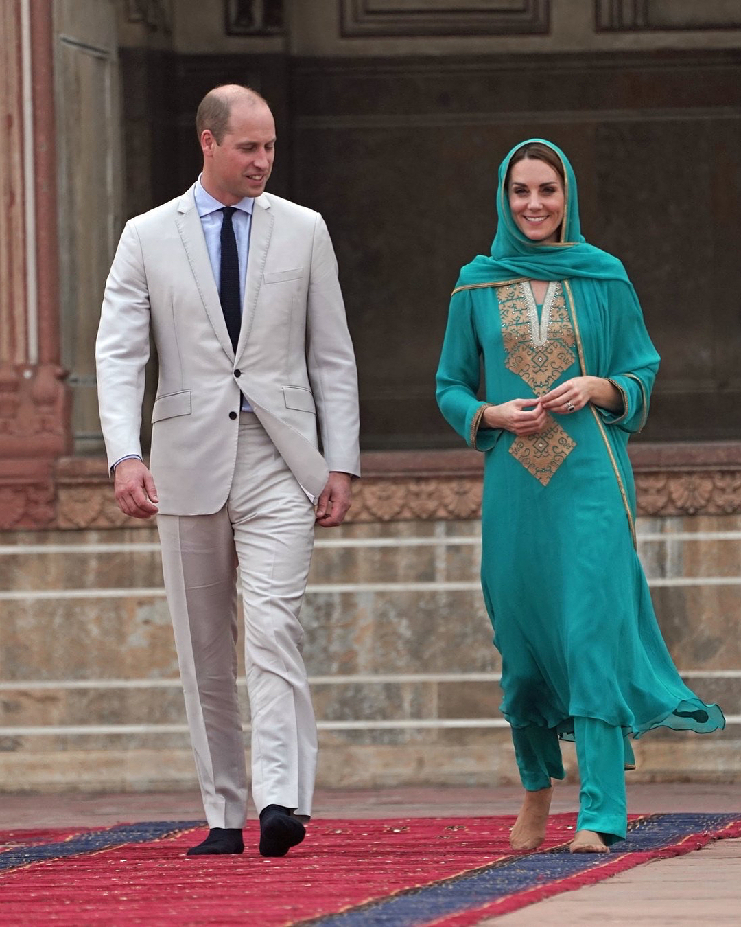 Royal Couple In Lahore 9