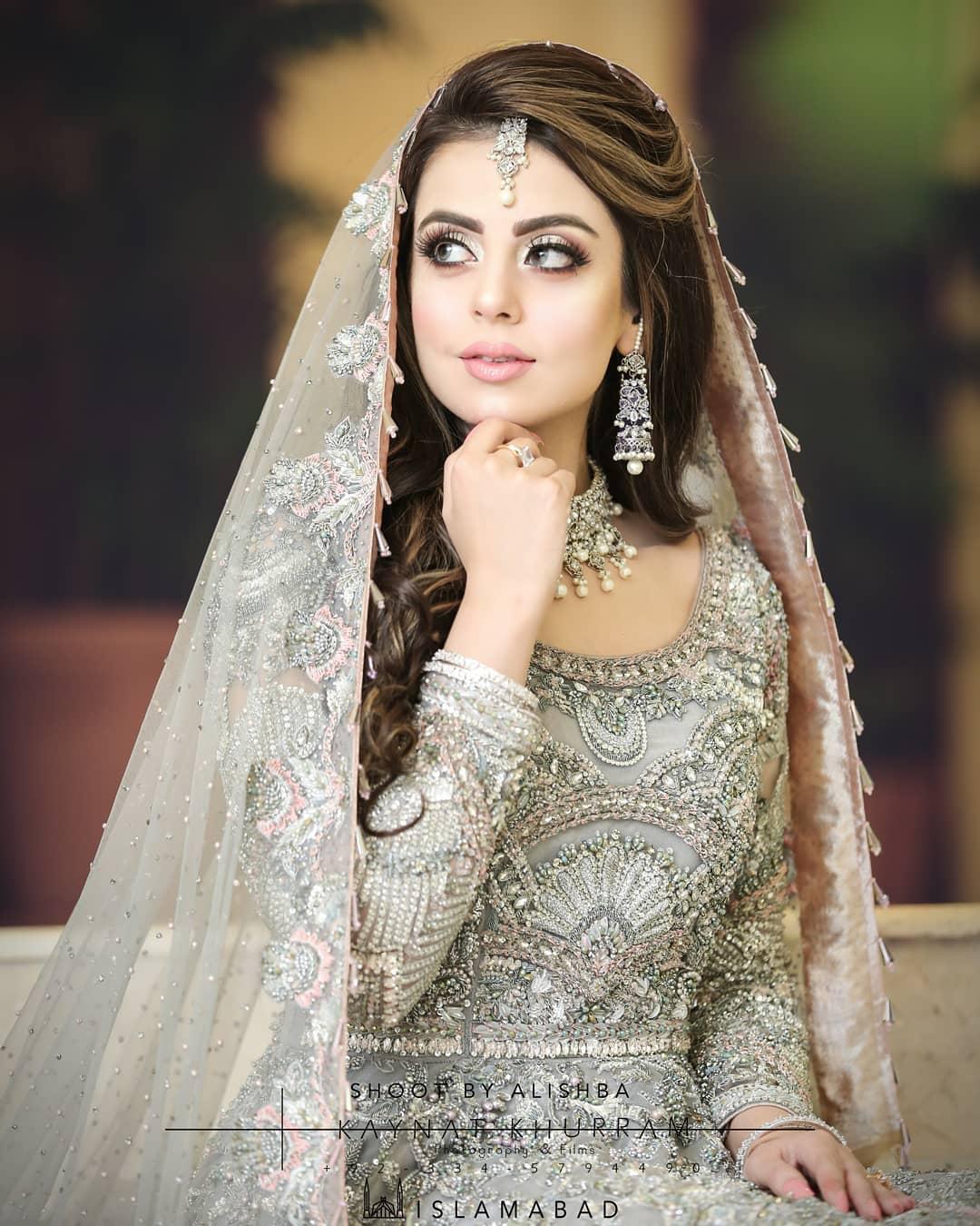 Latest Bridal Photo Shoot of Actress Yashma Gill